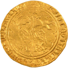 Coin, France, Agnel d'or, Angers, EF(40-45), Gold, Duplessy:372