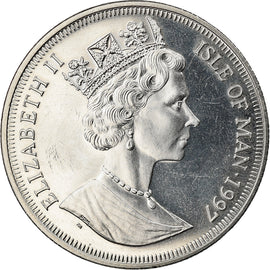 Coin, Isle of Man, Crown, 1997, BE, AU(50-53), Copper-nickel, KM:759