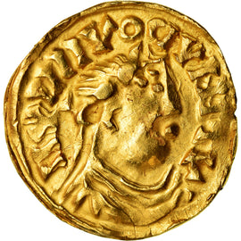 Coin, France, Louis le Pieux, Solidus, 830-850, AU(50-53), Gold, Prou:1075-77