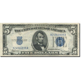 Banknote, United States, Five Dollars, 1934, 1934, KM:1750, EF(40-45)