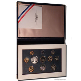 Coin, France, Proof Set Franc, 1991, Paris, MS(65-70), Gadoury:page 289