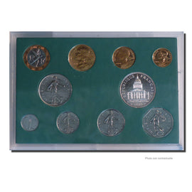 Coin, France, Set, 1988, Paris, MS(65-70), Gadoury:page 288