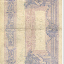 France, 1000 Francs, Bleu et Rose, 1889, 1926-07-06, EF(40-45), Fay:36.43 KM:67k