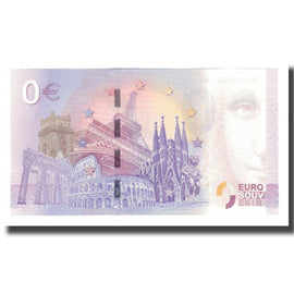 Germany, Tourist Banknote - 0 Euro, Germany - Duisburg - Le Zoo de Duisbourg -
