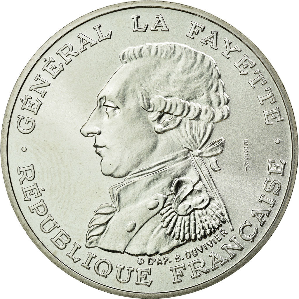 Coin, France, 100 Francs, 1987, MS(65-70), Silver, KM:E137, Gadoury:902