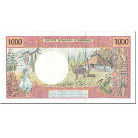 Banknote, French Pacific Territories, 1000 Francs, 1996, Undated (1996), KM:2a