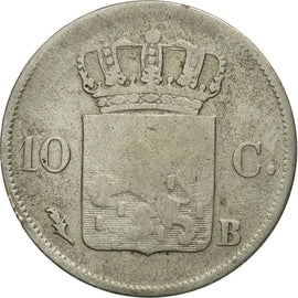 Coin, Netherlands, William I, 10 Cents, 1825, VF(20-25), Silver, KM:53