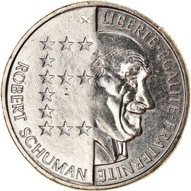 Coin, France, Schumann, 10 Francs, 1986, Paris, AU(50-53), Nickel, KM:958