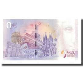 Germany, Tourist Banknote - 0 Euro, Germany - Remscheid - L'Hôtel de Ville de