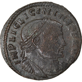 Coin, Licinius I, Follis, 312-313, Thessalonica, EF(40-45), Bronze, RIC:59