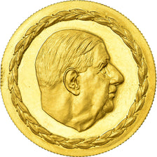 France, Medal, Charles De Gaulle, French Fifth Republic, History, 1970, MS(63)