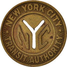 United States, Token, New-York City Transit Authority