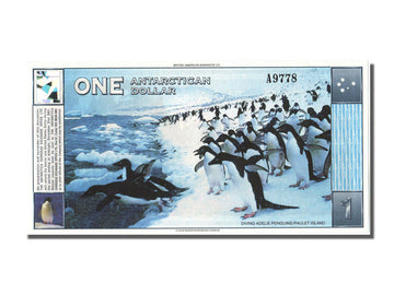 Antarctic, 1 Dollar, 1996, 1996-03-01, UNC(65-70)