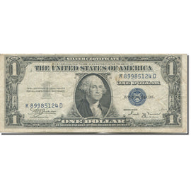 Banknote, United States, One Dollar, 1935 B, Undated (1935), KM:1454, VF(20-25)