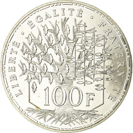Coin, France, Panthéon, 100 Francs, 1983, Paris, MS(65-70), Silver, KM:951.1