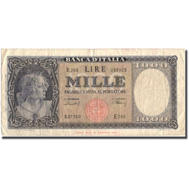 Banknote, Italy, 1000 Lire, 1947, 1947-08-14, KM:83, VF(20-25)