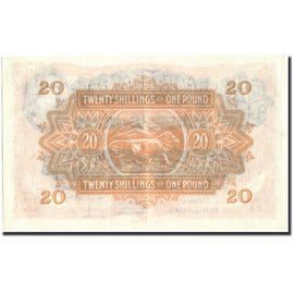 Banknote, EAST AFRICA, 20 Shillings = 1 Pound, 1955, 1955-01-01, KM:35