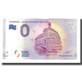 Germany, Tourist Banknote - 0 Euro, Germany - Bamberg - Altes Rathaus Im Fluss -