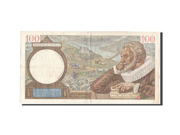 Banknote, France, 100 Francs, 100 F 1939-1942 ''Sully'', 1939, 1939-12-21