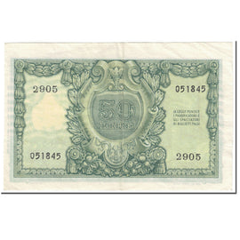 Banknote, Italy, 50 Lire, 1951, 1951-12-31, KM:91a, EF(40-45)