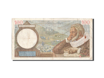 Banknote, France, 100 Francs, 100 F 1939-1942 ''Sully'', 1939, 1939-10-12