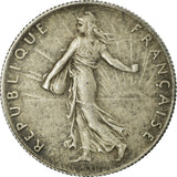 Coin, France, Semeuse, 50 Centimes, 1897, Paris,Flan mat,MS(60-62),Silver,KM 854