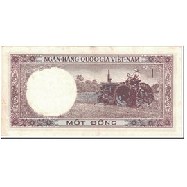 Banknote, South Viet Nam, 1 D<ox>ng, 1964, Undated (1964), KM:15a, EF(40-45)
