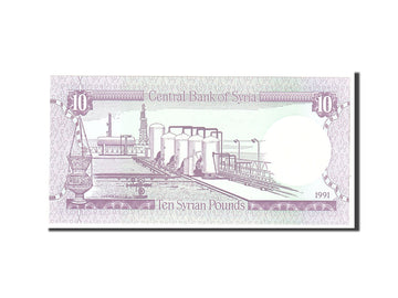 Syria , 10 Pounds, 1991, Undated, KM:101e, UNC(65-70)