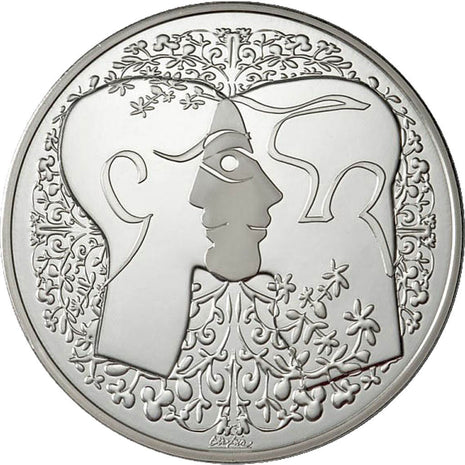 FRANCE, Arts & Culture, The Fifth Republic, Medal, MS(65-70), Silver, 60.00
