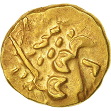 Ambiani, Area of Amiens, Stater, AU(55-58), Gold, Delestré:161