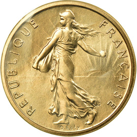 Coin, France, 1/2 Franc, 1972, MS(65-70), Gold, KM:P451, Gadoury:91.P3