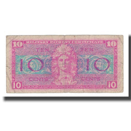 Banknote, United States, 10 Cents, Undated (1954), KM:M30a, F(12-15)