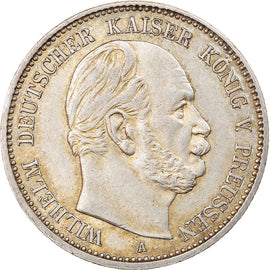 Coin, German States, PRUSSIA, Wilhelm I, 2 Mark, 1876, Berlin, AU(50-53)