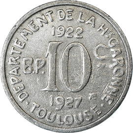 Coin, France, Union Latine, Comité du Sud-Ouest, 10 Centimes, Toulouse
