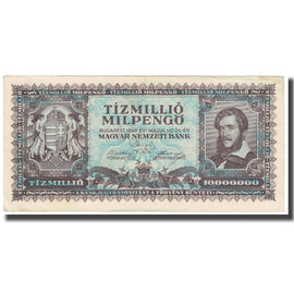 Banknote, Hungary, 10 Million Milpengö, 1946, 1946-05-24, KM:129, EF(40-45)
