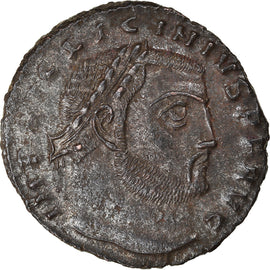 Coin, Licinius I, Follis, 312-313, Thessalonica, AU(55-58), Bronze, RIC:2.