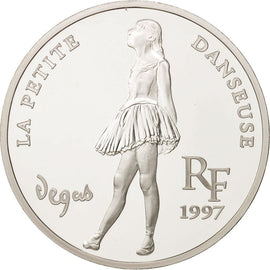 Coin, France, 10 Francs-1.5 Euro, 1997, Paris, MS(65-70), Silver, KM:1292