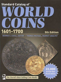 Book, Coins, World Coins, 1601-1700, 5th Edition, Safe:1842-1