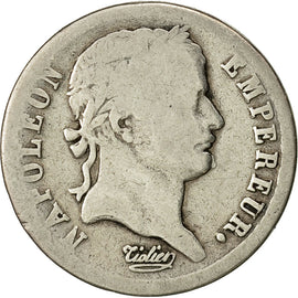 Coin, France, Napoléon I, 1/2 Franc, 1808, Paris, VF(30-35), Silver, KM:680.1