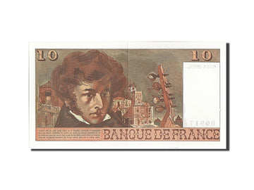 Banknote, France, 10 Francs, 10 F 1972-1978 ''Berlioz'', 1975, 1975-05-15