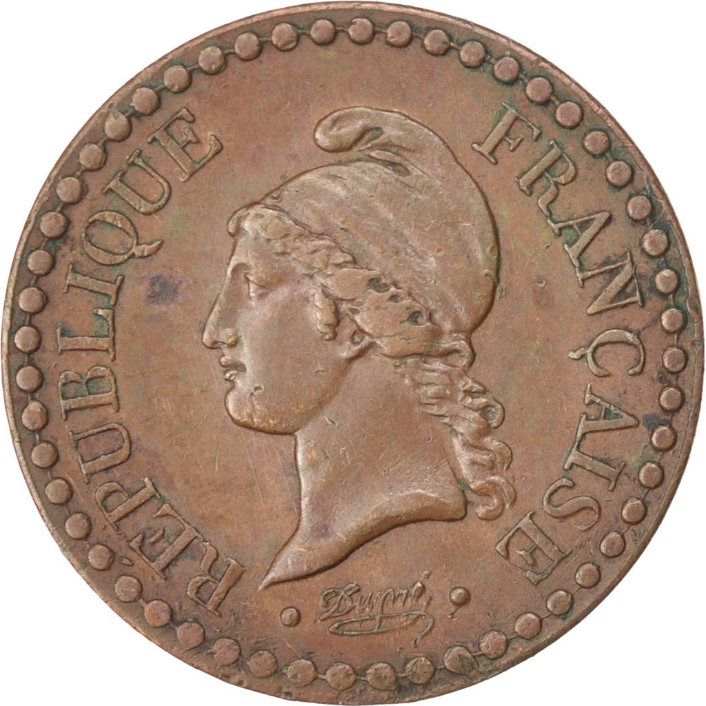 FRANCE, Dupré, Centime, 1849, Paris, KM #754, EF(40-45), Bronze, Gadoury #84, 2.