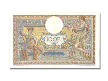 France, 100 Francs, 100 F 1908-1939 ''Luc Olivier Merson'', 1918, KM #71a,...
