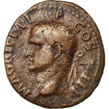 Coin, Agrippa, As, Rome, VF(30-35), Bronze, RIC:58