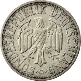 Coin, GERMANY - FEDERAL REPUBLIC, 2 Mark, 1951, Karlsruhe, EF(40-45)