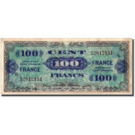 Banknote, France, 100 Francs, 1945 Verso France, 1945, 1945, VF(20-25)