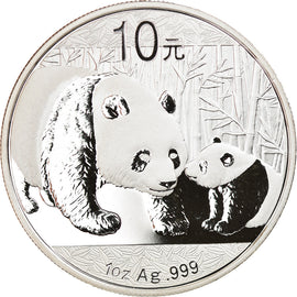 Coin, CHINA, PEOPLE'S REPUBLIC, Panda, 10 Yüan, 2011, MS(65-70), Silver
