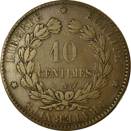 Coin, France, Cérès, 10 Centimes, 1895, Paris, EF(40-45), Bronze, KM:815.1