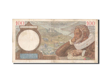 Banknote, France, 100 Francs, 100 F 1939-1942 ''Sully'', 1939, 1939-11-30
