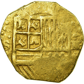 Coin, Spain, 2 Escudos, Sevilla, EF(40-45), Gold