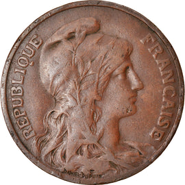 Coin, France, Dupuis, 10 Centimes, 1913, Paris, VF(30-35), Bronze, KM:843